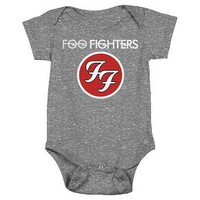 Baby Foo Fighters Bodysuit Charcoal : Target