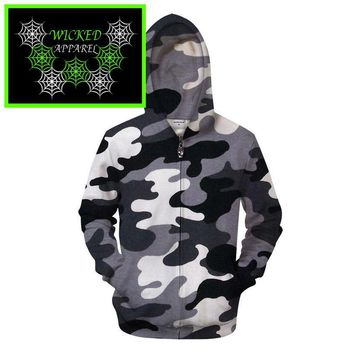 Wicked Apparel Camo Hoodie #410