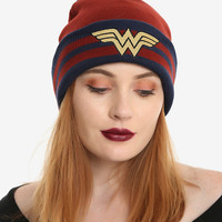 DC Comics Wonder Woman Pom Beanie