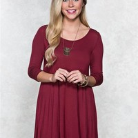 Strappy T-Shirt Dress