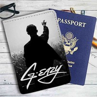 G-Eazy Concert Leather Passport Wallet Case Cover