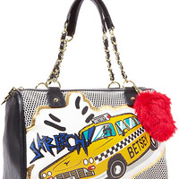 BetseyJohnson.com - SUPER BETSEY SATCHEL YELLOW