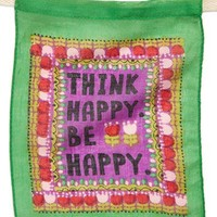 Natural Life 'Think Happy. Be Happy.' Flag | Nordstrom