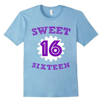 SWEET 16 PARTY CELEBRATION SHIRT