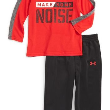 Under Armour Make Some Noise T-Shirt & Pants Set (Baby Boys) | Nordstrom