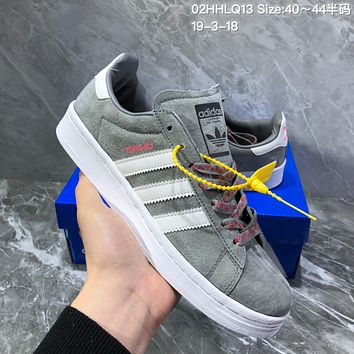 DCCK2 A956 Adidas Campus Bicycle Fashion Casual Skateboard shoes Green