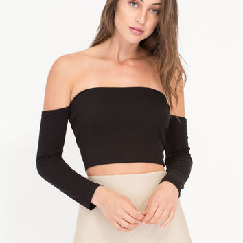 It Takes Tube Off-Shoulder Crop Top GoJane.com