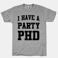 I Have a Party PHD