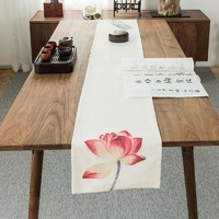 Red Lotus A Table Runner