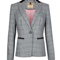 Check jacket - Gray | Suits | Ted Baker