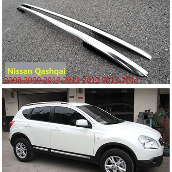 Car Roof Racks Luggage rack For Nissan Qashqai 2008.2009.2010.2011.2012.2013.2014 High Quality Auto Modification Accessories
