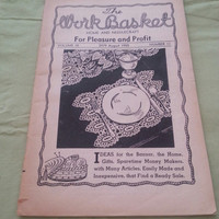 The Work Basket Home and Needle Craft for Pleasure and Profit Volume 15 (2979) August 1950 Number 11