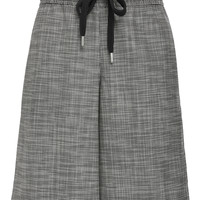Houndstooth Wide Leg Short