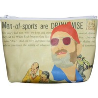 Bill Murray Pop Zipper Pouch and Makeup Bag – Illustrated and Handmade in the USA