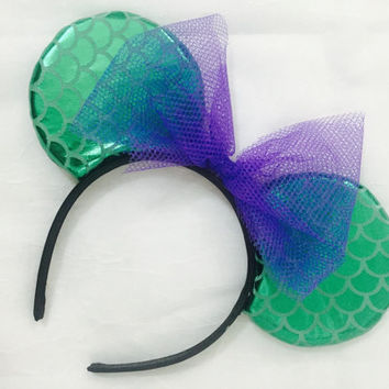 Mermaid Mickey Ears