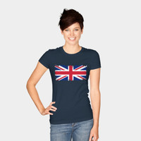 Retro Style Union Jack T Shirt By Bruzer Design By Humans