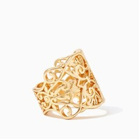 Filigree Missus Ring | Fashion Jewelry - Modern Romance | charming charlie