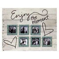 ''Enjoy the Moment'' Collage Frame