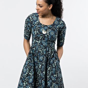 Mata Traders Serephina Dress Slate Blue