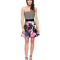 Endless Summer Stripe Ponte Dress by Juicy Couture