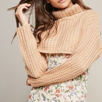 Sweater-Knit Crop Top