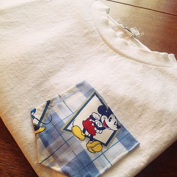 Mickey Mouse pocket tee