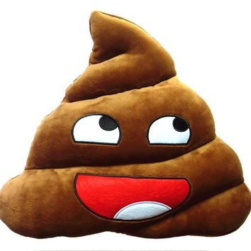 Poop Emoji Pillow Doll