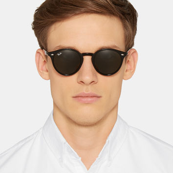 fcc3e843c0 Ray-Ban - 2180 Round-Frame Acetate from MR PORTER
