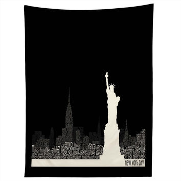 Restudio Designs New York Skyline 4 Tapestry