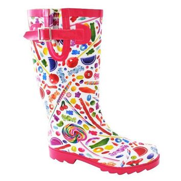 Dylan's Candy Bar Candy Spill Rain Boots - Women in  Rain Gear at Dylan's Candy Bar