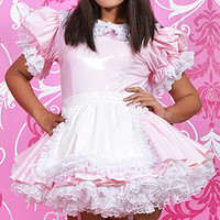 Primrose PVC French Maid [pvc010] - £153.22 : The Fantasy Store, Sexy Fantasywear!