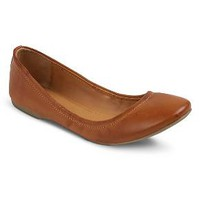 Women's Ona Scrunch Ballet Flats Mossimo Supply Co.™ - Cognac 10