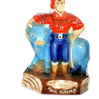 Old Mr. Boston No.13-1971 Royal Halburton China - Paul Bunyan Decanter