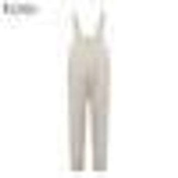 ZANZEA Retro Rompers Womens Jumpsuits 2017 Sleeveless Strap Pockets Lace Up Solid Casual Loose Calf Length Simple Baggy Overalls