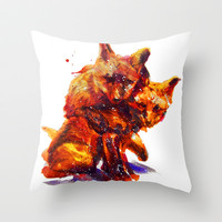 Cuddle Club Throw Pillow by beart24