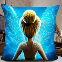 Tinkerbell Wings Decorative Pilllow Cover 18x18 inches for One Side and Two Side