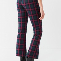 UO Casey Plaid Kick Flare Pant | Urban Outfitters