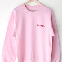 Brunch Oversized Sweatshirt