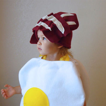 Adult Egg Bacon Costume Halloween Teen Couples by TheCostumeCafe