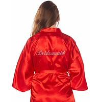 Ladies Bridesmaid Robe