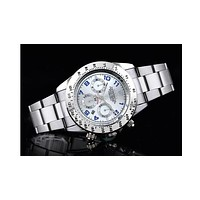 Rolex three subtitles strip F-SBHY-WSL Silver