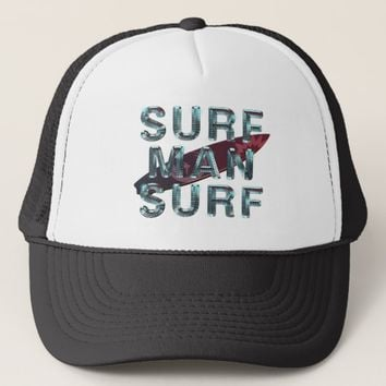 TOP Surf Man Surf Trucker Hat