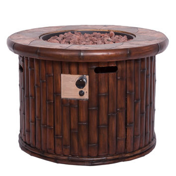 Michael Anthony Bamboo Fire Pit