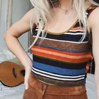 Willa Stripe Crop Top