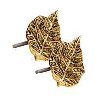2-pack Leaf-shaped Knobs - from H&M