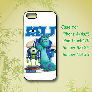 Monsters, Inc. - Samsung Galaxy S4 case, Samsung Galaxy S3 case, Samsung Galaxy note 2, iPhone 4 Case, iPhone 5 Case, Custom phone case