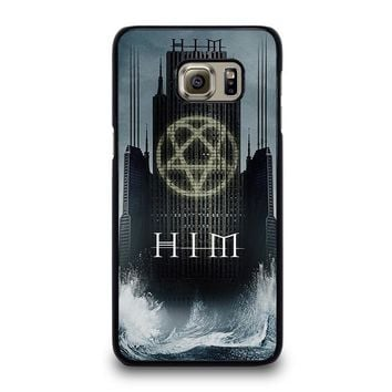 HIM BAND HEARTAGRAM Samsung Galaxy S6 Edge Plus Case Cover