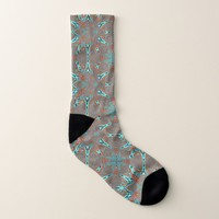 Fractal Star of Future Complexity Socks