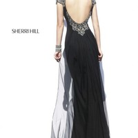 2014 Sherri Hill Jersey Homecoming Dress 32012