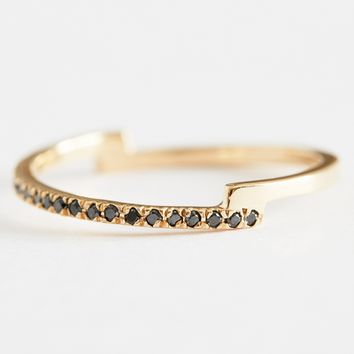 Black Diamond Pera Ring by Still House for Of a Kind